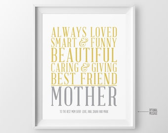 Christmas Gift for Mom Gift Mom Birthday Gift for Mother Gift for Mothers Day Gift Mother of the Bride Gift Wedding Gift for Mom