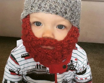 ShowBaby Harry - Bearded Beanie