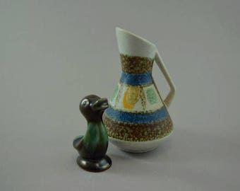 Vintage vase / Fohr / 412 12 | West Germany | WGP | 60s