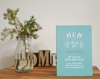 Mother's Day - Greetings Card - Happy