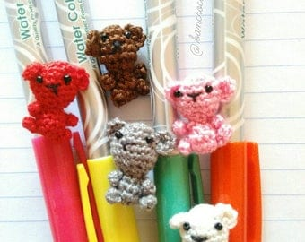 Mini bear doll amigurumi crochet : mini bear,bear, doll,yarn,handmade,diy,craft,amigurumi,minidoll,smalldoll,crochet