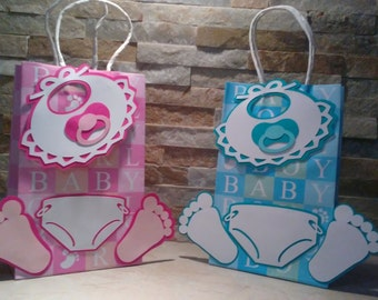 Baby Shower Favor Bags set of 12