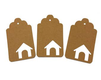 Dog House Gift Tags
