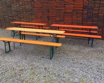 Original German Beer Garden Tables, pick nick table, Oktoberfest, Munich beer table PLEASE READ!!!