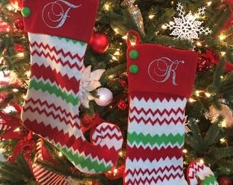 Christmas Stocking, Christmas Stocking Personalized, Personalized Christmas Gift, Christmas, Stocking, Our First Christmas, Custom Stocking