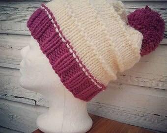 Cap * Knit Beanie * has * Beanie * Alpaca