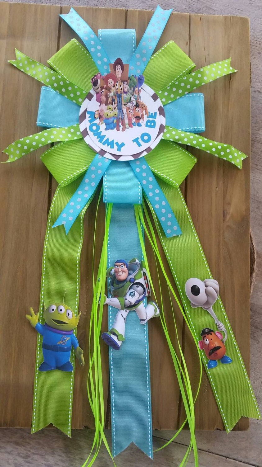 toy story baby shower corsage mommy to be by silviaspartydecor