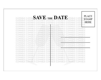 electronic save the date templates - save the dates etsy