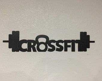 Crossfit sign - Home Decor - Wall Art