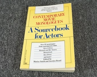 Contemporary Movie Monologues A Sourcebook For Actors M. Smith  J. Beard C. 1991