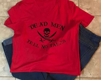 Dead Men Tell No Tales | Pirates of the Caribbean | Disney Pirate Shirt
