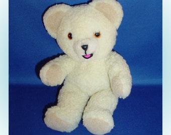 Snuggle Bear Plush Etsy