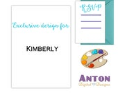 Custom Listing for Kimberly & Adam - By The Sea Wedding Suite