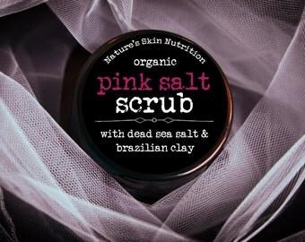 Organic Salt Scrub / Organic Dead Sea Salt Scrub / Dead Sea Salt / Body Scrub / Face Scrub / Salt Scrub / Sugar Scrub / Body Polish /