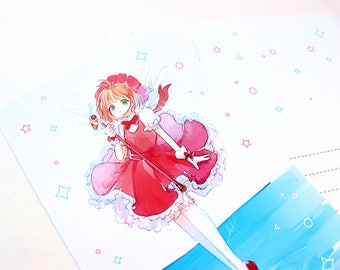 Sakura 4x6 Postcard Print (Double-Sided)