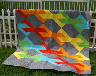 PDF Pattern - Infinity Quilt