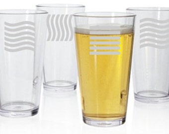 The Fifth Element Pint Glass Set of 4