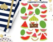 Watermelon Collection Deco Planner Stickers! KT462