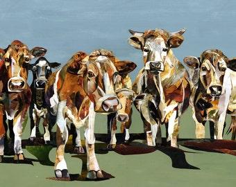 Cow Print - Giclee