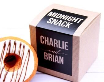 Cupcake Box, Cupcake Label, Cookie Box, Donut Box, Cake Favor Box, Favor Box, To Go Box, Bridal Shower Favor, Favor Label, Baby Shower Favor