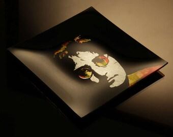 John Lennon tribute plate