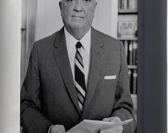 Canvas 24x36; J. Edgar Hoover Fbi
