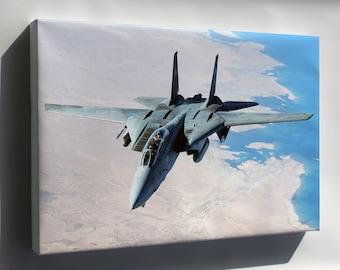 Canvas 16x24; F-14 Tomcat P1