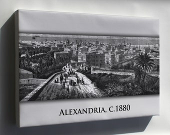 Canvas 16x24; Alexandria 1880