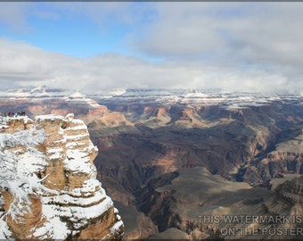 16x24 Poster; Grand Canyon In Winter