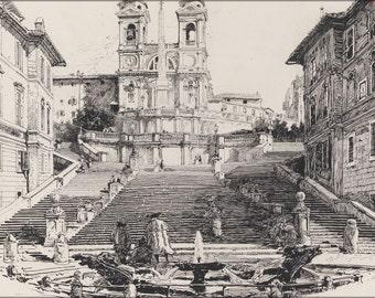 16x24 Poster; Harry Fenn Keats' Home In Rome