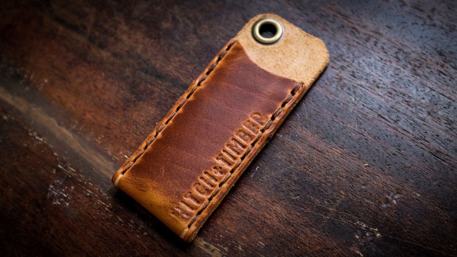 Cadet Carrier Leather Edc Tool Slip For Everyday Carry