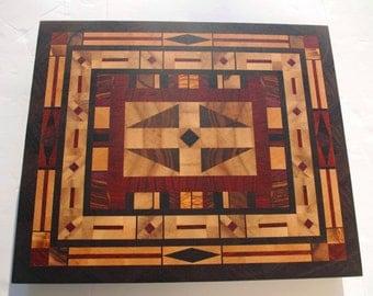 End grain cutting board - end wood cutting board