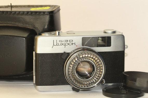 Fed Mikron Rare Soviet Compact Full Frame Rangefinder Camera N6807254
