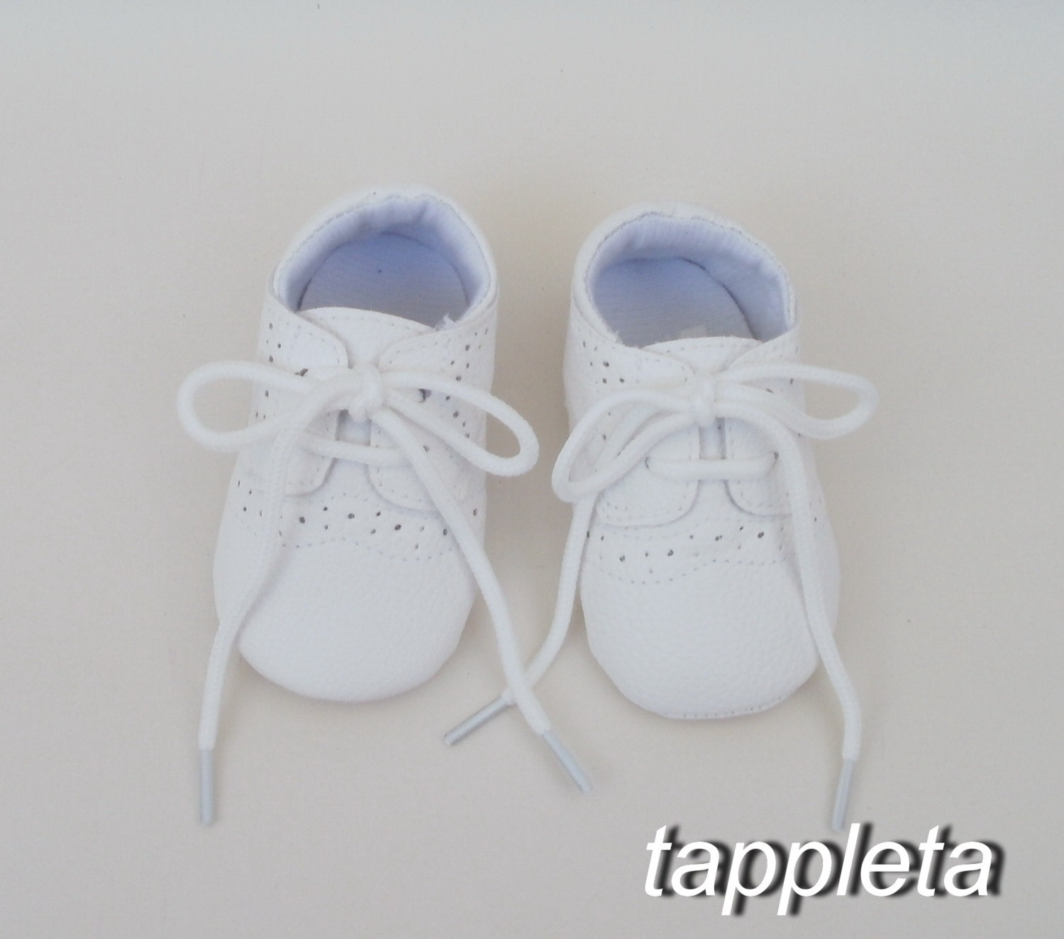 Oxford Shoes Baptism booties baby boy shoes girl booties