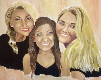 Custom Canvas Portrait