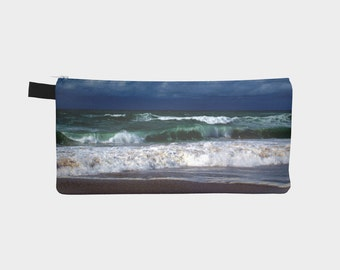 Plentzia - Pencil Case -  Photography - Christmas gifts - Sea - Spain - Gift for him - Gift for her - Makeup bag - Pouch - Travel