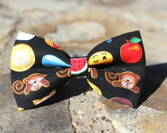 Emoji Bow Tie, Boys Bow Tie, Dog Bow Tie, Mens Bow Tie, Toddler Bow Tie, Fun Bow Tie, Bow Tie for Boys, Bow Tie for Dog