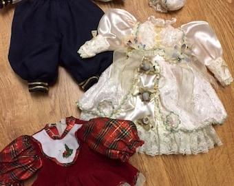 Vintage Doll Dresses (Lot 3) Group 9