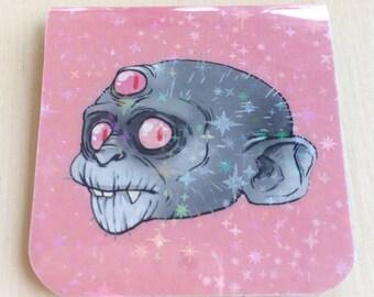 Glistening mystical monkey magnetic bookmarks