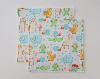 Ducky Wash Cloths - Set of 2