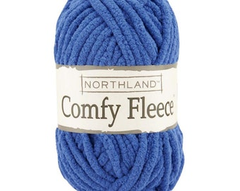 Yarn - Northland Comfy Fleece - Open Water, Northern Lights, or Icicles