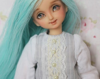 1/6 OOAK Custom repaint azone pure neemo obitsu volks doll head by I'mDolls