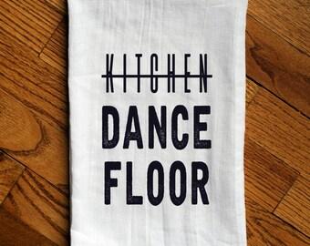 Kitchen/Dance Floor Cotton Kitchen Flour Sack Tea Towel Dish Cloth