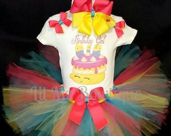 Shopkins birthday tutu outfit, Shopkins tutu set, shopkins tutu, shopkins cake tutu, shopkins cake tutu dress, shopkins cake tutu outfit
