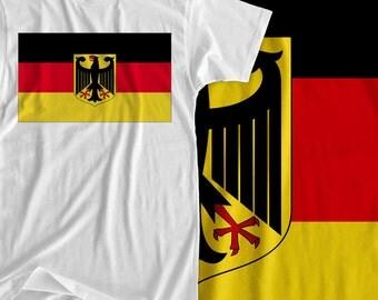 Germany - Europe Flag - Iron On Transfer