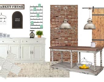 Farmhouse Kitchen Styling