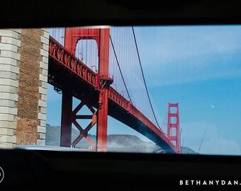 San Francisco Bay Bridge #1 11x14 Matted Print