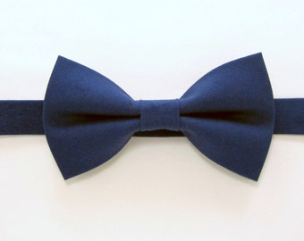 Navy bow tie,Wedding bow tie , Easter Bow Ties for Men,Toddlers ,Boys,baby