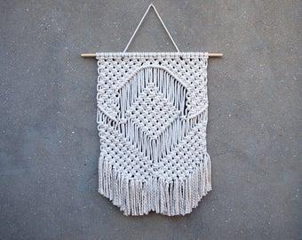 Weaving Wall Hanging boho wall hanging medium size macrame wall hanging bohemian