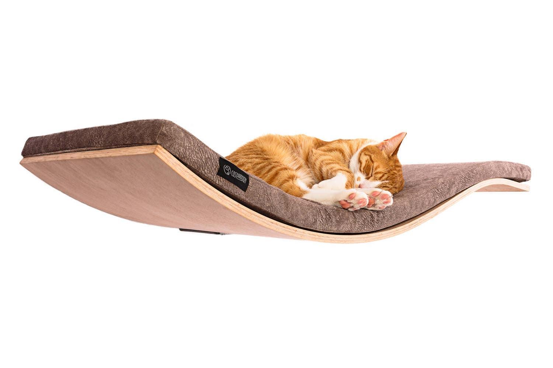 wall mounted cat shelf floating cat shelf pet furniture cat. Black Bedroom Furniture Sets. Home Design Ideas